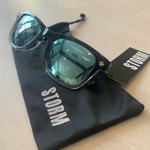 Storm 'Carius' sunglasses in Black/Clear/Blue