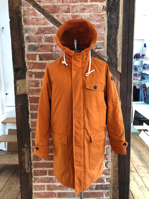 Scotch & Soda Padded parka Jacket in Outdoor orange