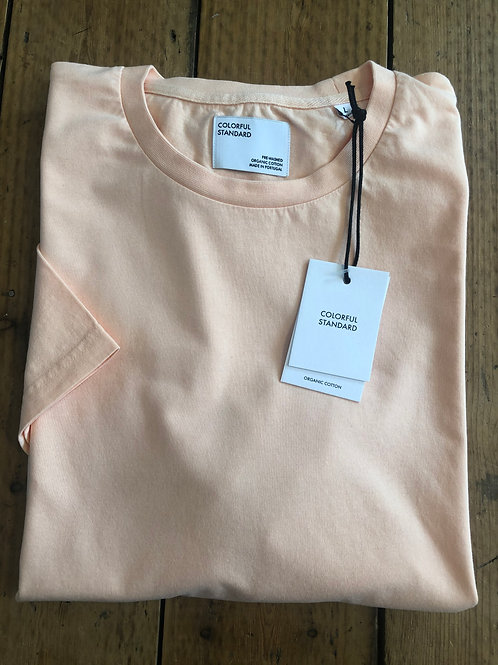 Colorful Standard classic organic cotton T-shirt in Paradise Peach