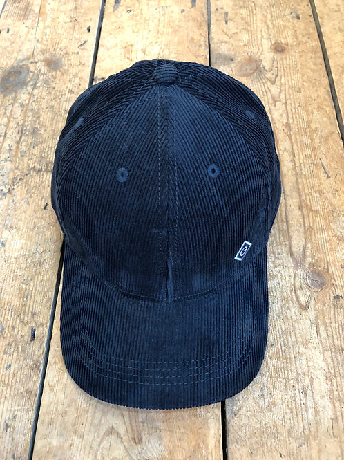 Gant corduroy baseball cap in navy