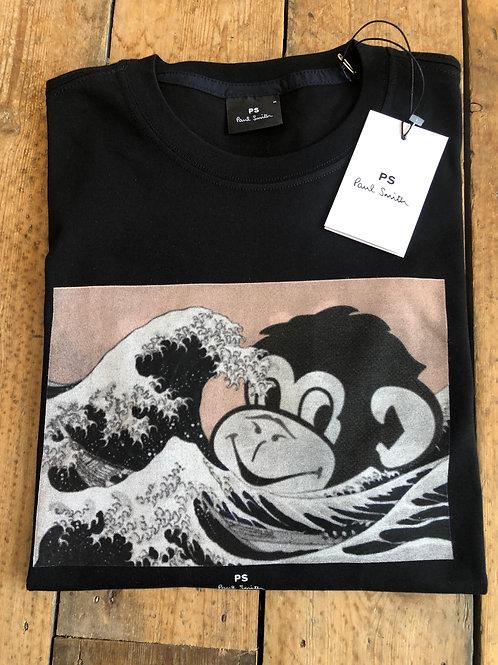 Paul Smith Ocean Monkey T-Shirt in black