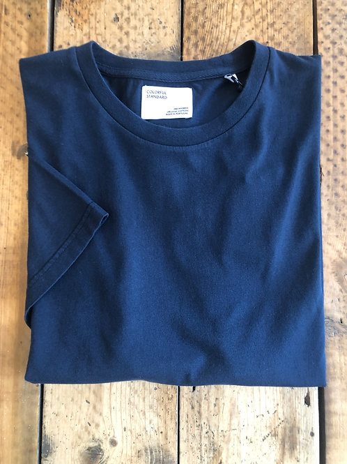 Colorful Standard classic organic cotton T-shirt navy blue