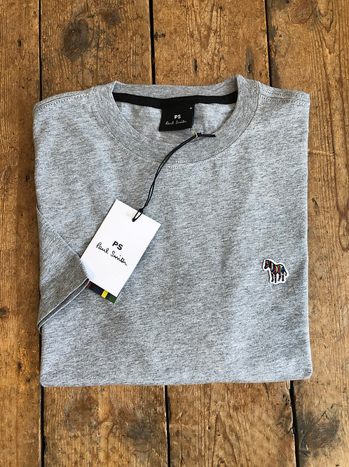 Paul Smith Zebra Logo T-shirt in Athletic Grey