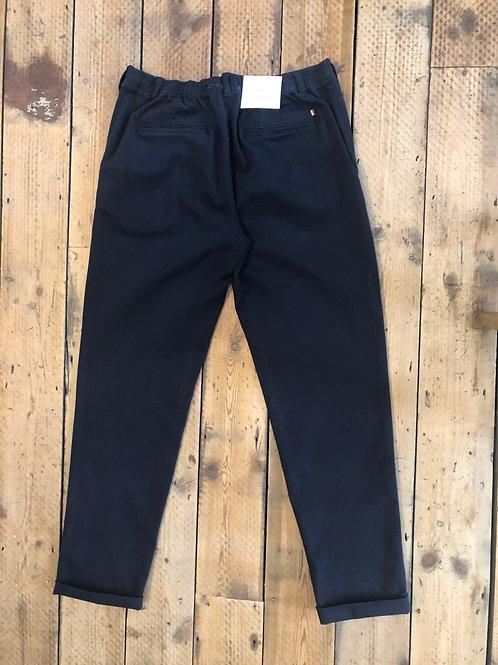 Les Deux navy 'Pascal' elasticated waist trousers