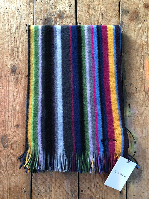 Paul Smith 'Orion Stripe' wool scarf