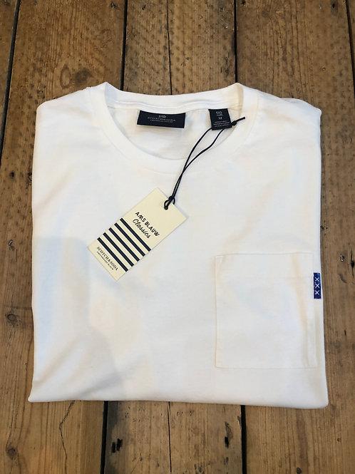 Scotch & Soda pocket T-Shirt in white