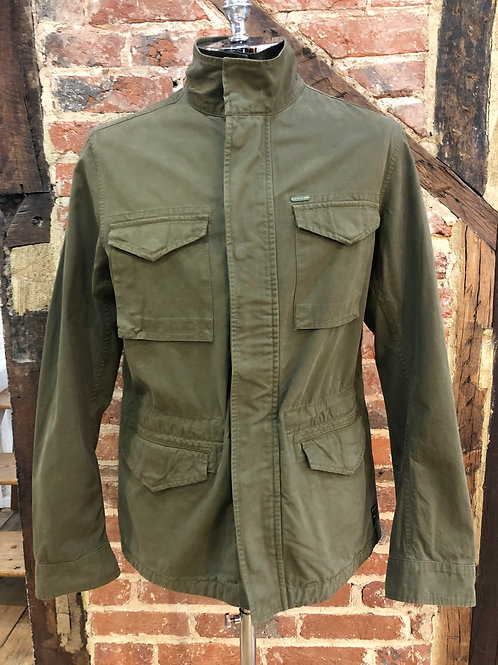 Scotch & Soda Field jacket in military green