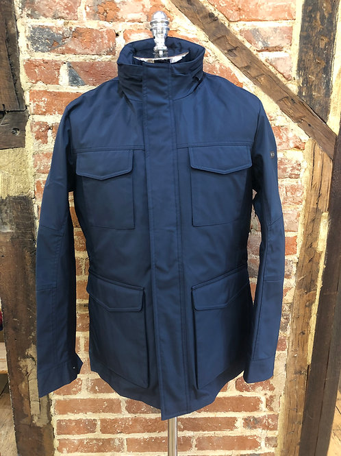 Hackett Field Jacket with zip out liner in Navy