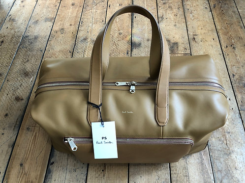 Paul Smith Tan leather holdall