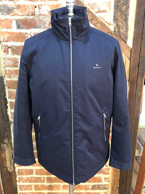GANT Mid-Length Jacket in Evening Blue