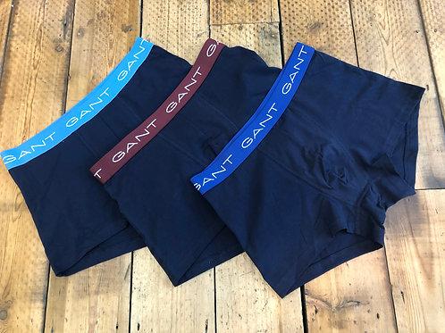 Gant Underwear, seasonal trunks three pack