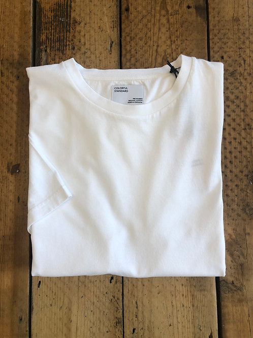 Colorful Standard classic organic cotton T-shirt optical white