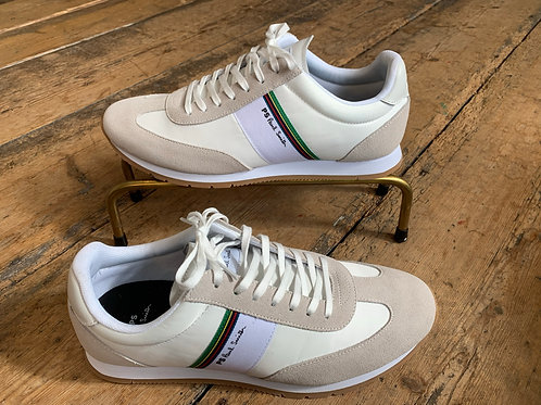 Paul Smith 'Prince' trainers in White Nylon