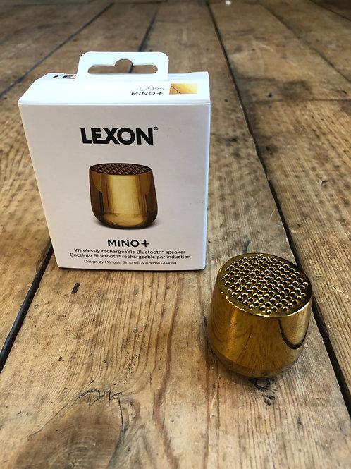 Lexon Mino+ Bluetooth speaker Metallic Gold