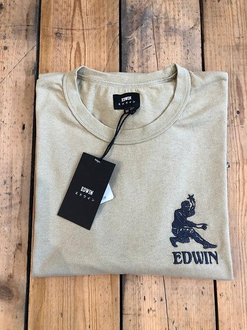 Edwin 'Shinobi' T-Shirt in Sponge