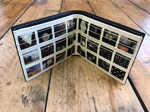 Paul Smith black internal 'photo wall' image print billfold wallet