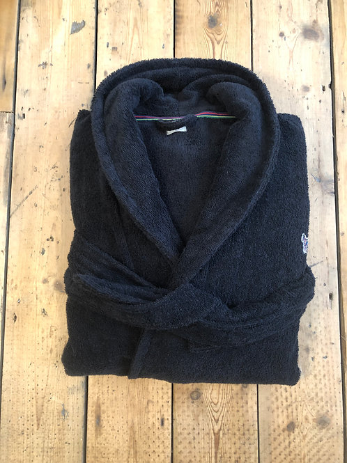 Paul Smith Dressing Gown with Zebra in black