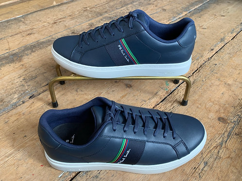 Paul Smith 'Rex' trainers in Dark Navy Leather
