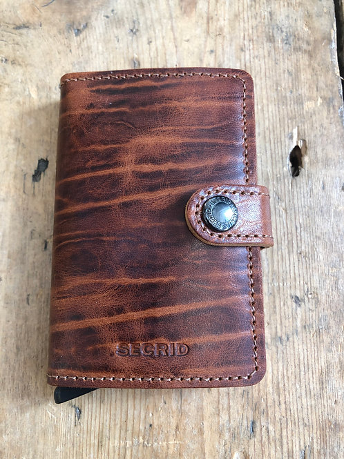 Secrid Miniwallet in Dutch Martin whisky