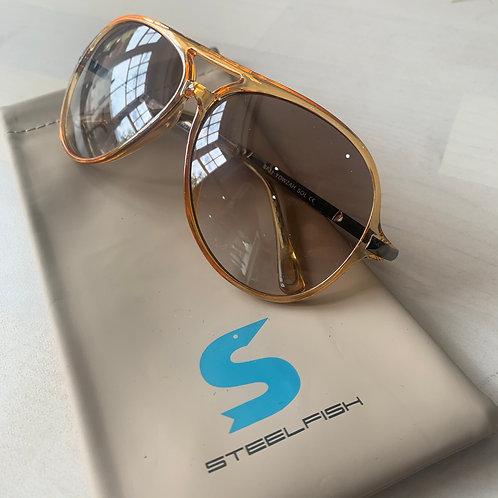Steelfish 'Yowzah Sol' sunglasses in Amber/Sepia