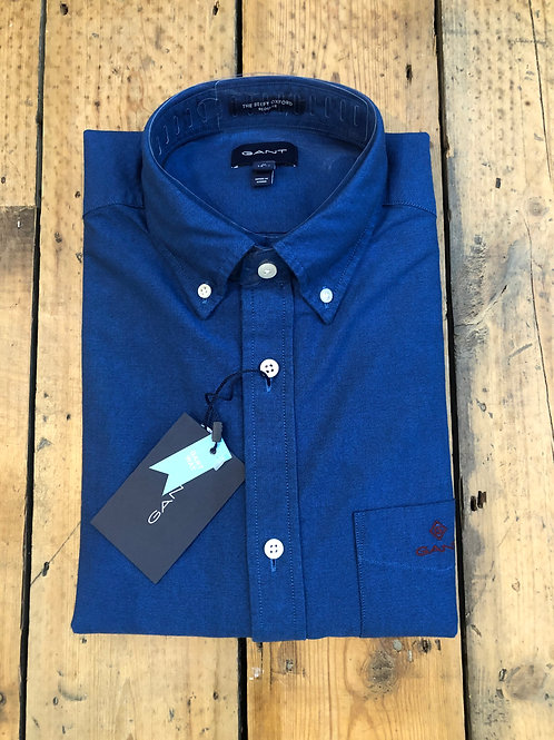 GANT Beefy Oxford shirt in strong Blue