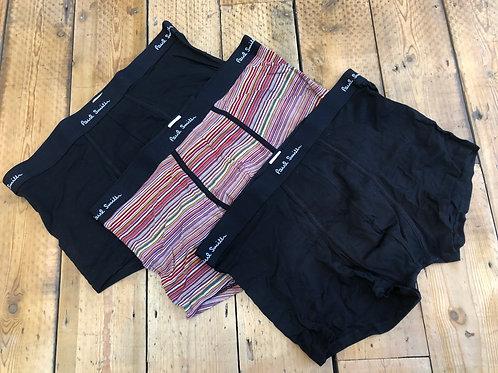 Paul Smith Underwear, 'Boxer brief' tunks three pack