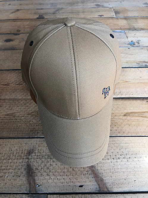 Khaki Paul Smith zebra baseball cap
