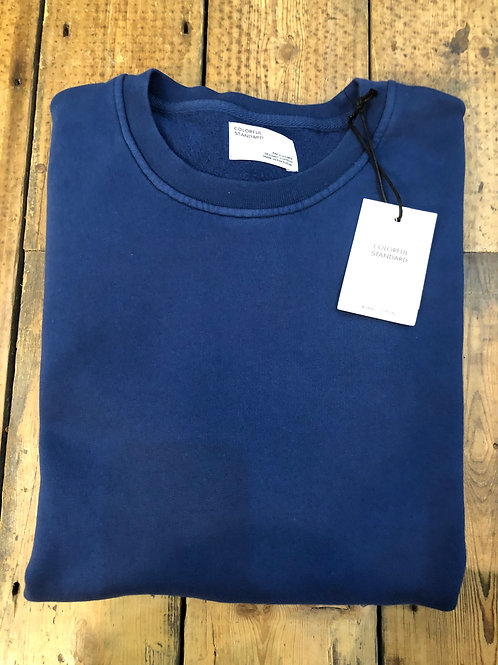 Colorful Standard organic cotton sweatshirt in Royal Blue