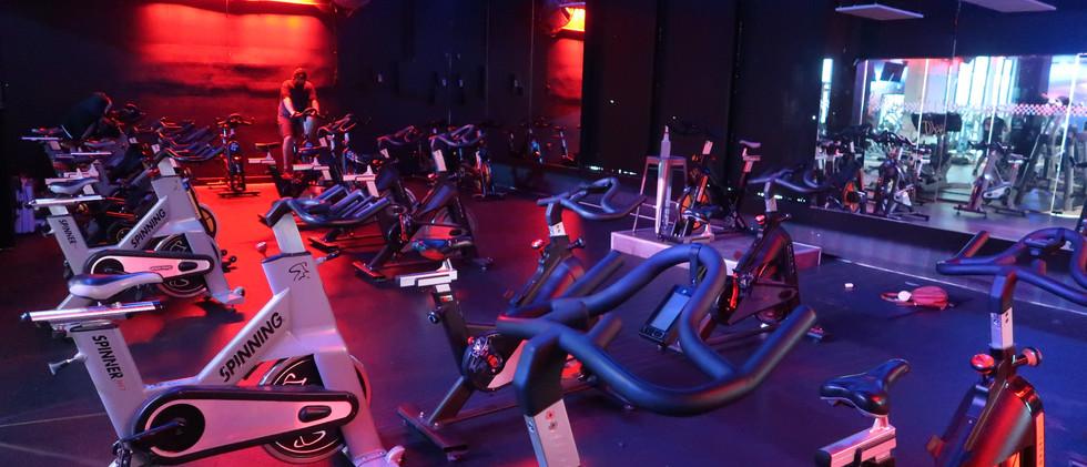 Heated Cycling Room