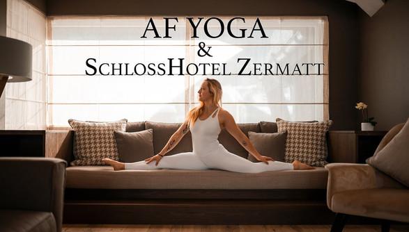 AF Yoga at the Schloss Hotel Zermatt