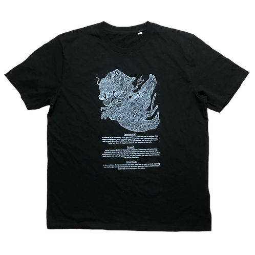 """The """"Three Poisons"""" Tee"""