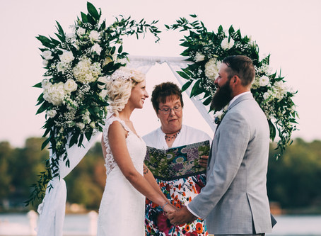 When a Natural Light Ceremony Can Work Beautifully