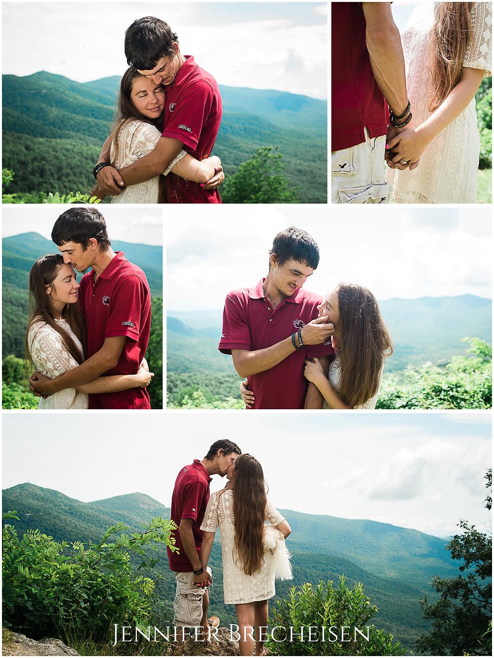 Blue Ridge Parkway Asheville aspen Engagement Wedding Photographer Photography Fine Art Adventure Destination mountain