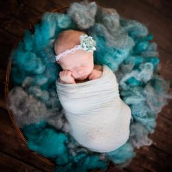 Baby Abigail-Charlotte Newborn Photo
