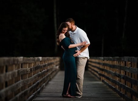 Tiffany's Gorgeous Maternity Session at Chester State Park | Rock Hill, SC Maternity Photographers