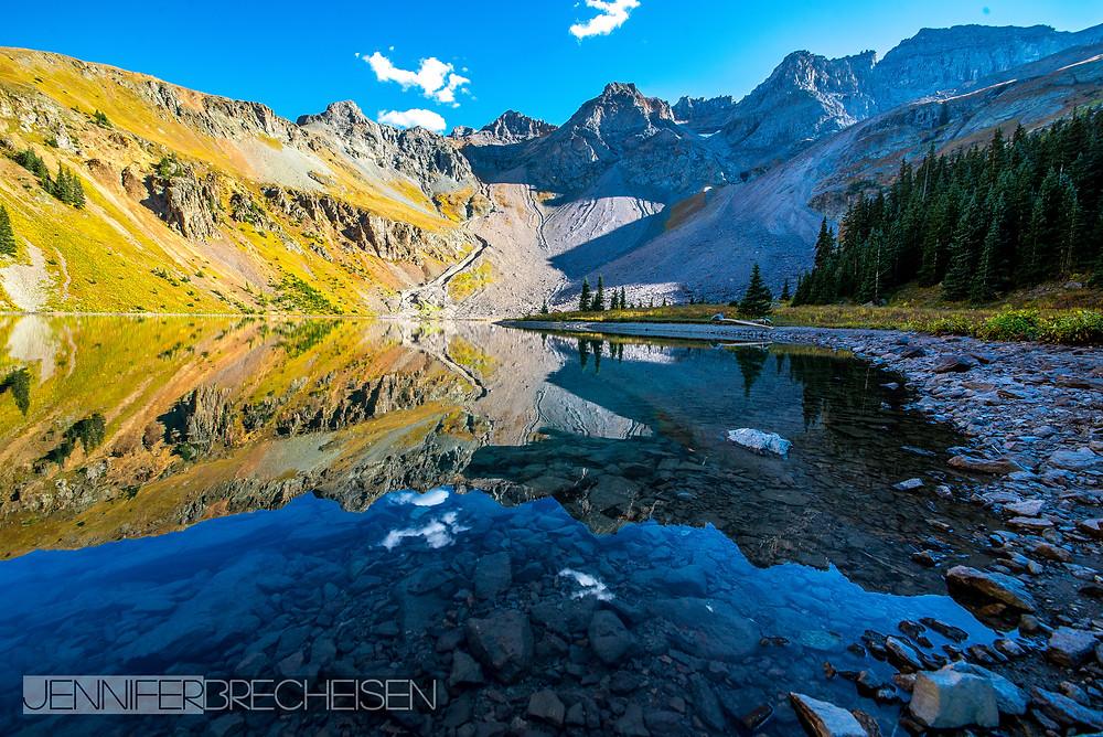 Lower Blue Lake Mt. Sneffels Photographer Rock Hill SC