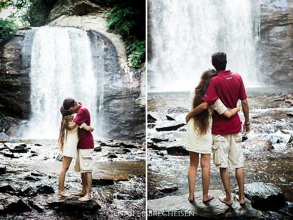 WEDDING PHOTOGRAPHER ASHEVILLE ASPEN CHARLOTTE NC CO SC GA FL FINE ART DESTINATION ADVENTURE LOOKING GLASS FALLS