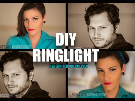 DIY RINGLIGHT | TUTORIAL