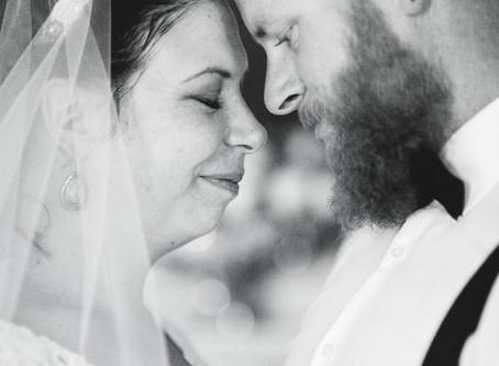 Amy + Mike's York, SC Wedding Chapel Ceremony   Photography by Jennifer Brecheisen