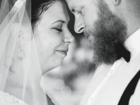 Amy + Mike's York, SC Wedding Chapel Ceremony | Photography by Jennifer Brecheisen