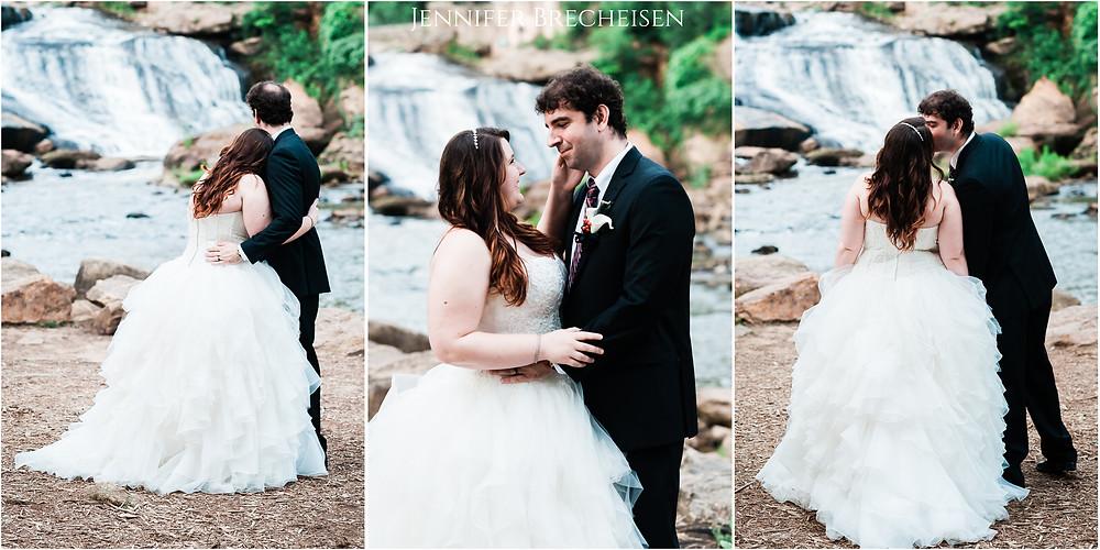 Greenville Asheville Wedding Engagement Photographer Fall's Park Brevard Aspen