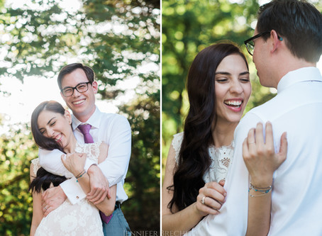 Sema + Russell's Charlotte, NC Wedding on the Banks of Lake Wylie!   Photography by Jennifer Bre