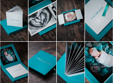 LUXE BABY BOOKS HAVE ARRIVED! | ROCK HILL NEWBORN PHOTOGRAPHY