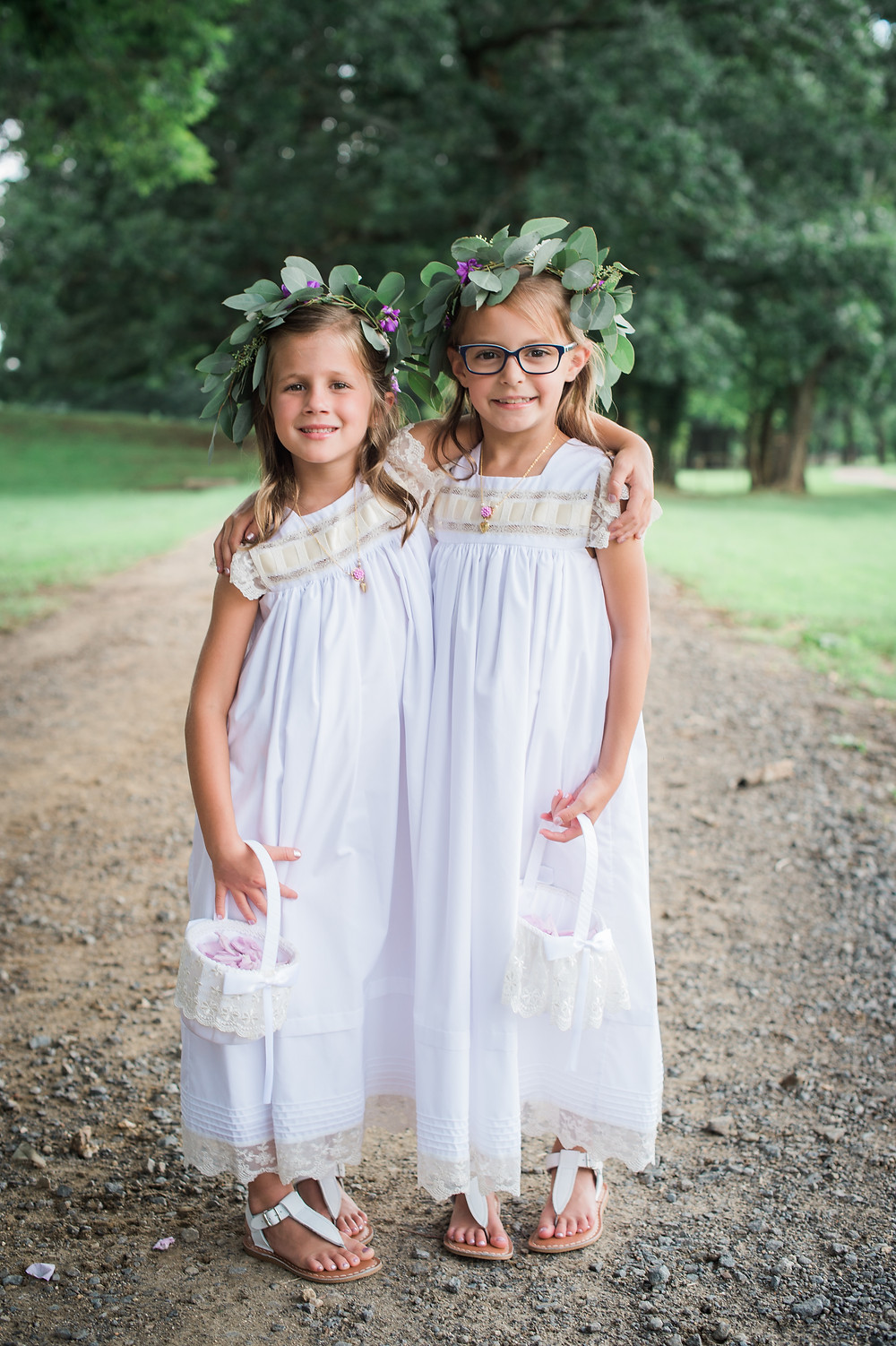 BOHO FLOWER GIRLS FORT MILL SC WEDDING