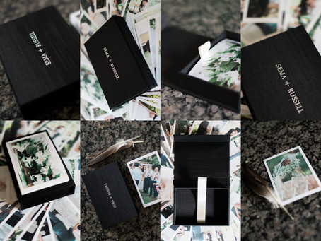 LUXE KEEPSAKE FABRIC PRINT BOXES | Charlotte, NC Wedding Photography Products