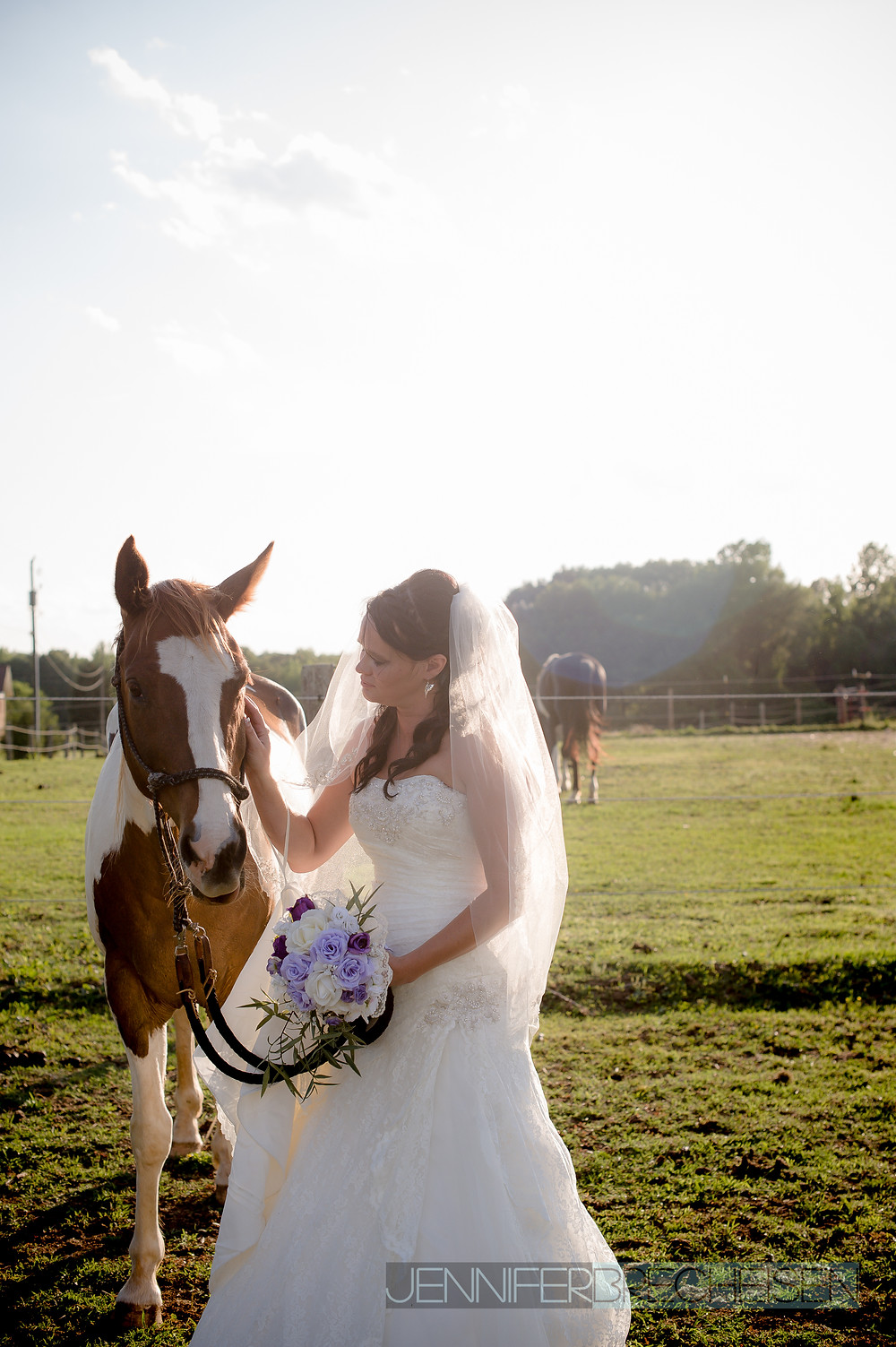 bride with horse rock hill sc wedding photographer