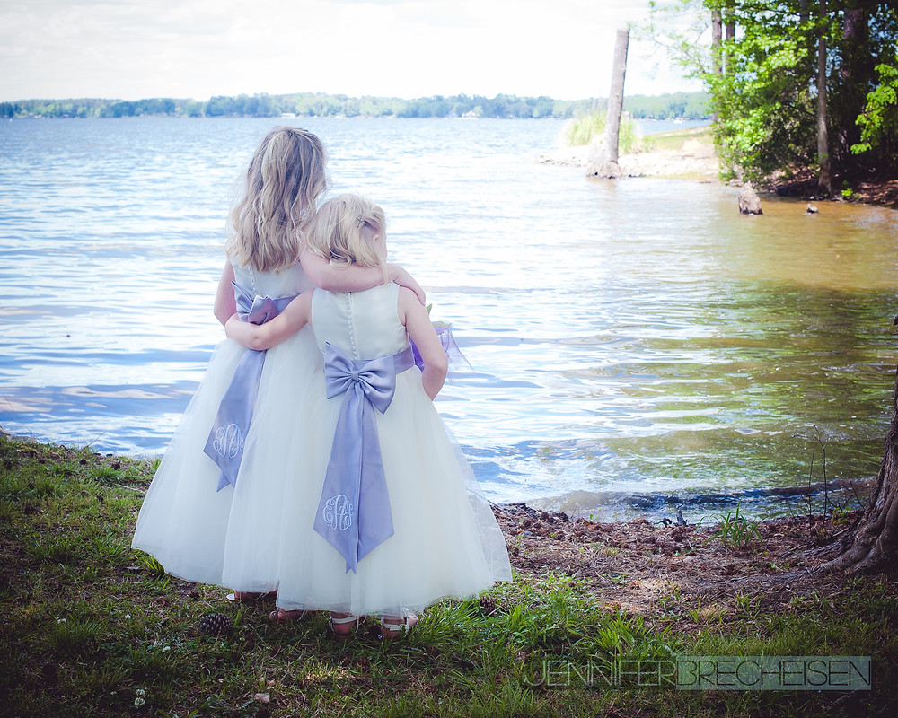 Flower Girls Leesville SC Wedding Photographer