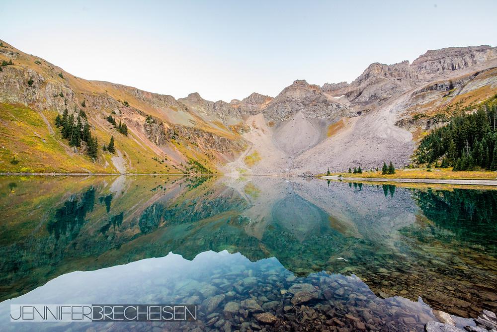 Lower Blue Lake Mt. Sneffels September 2015