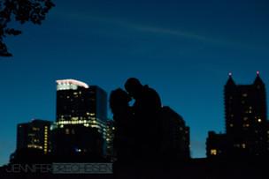 Engagement Wedding Photographer Atlanta, GA piedmont park