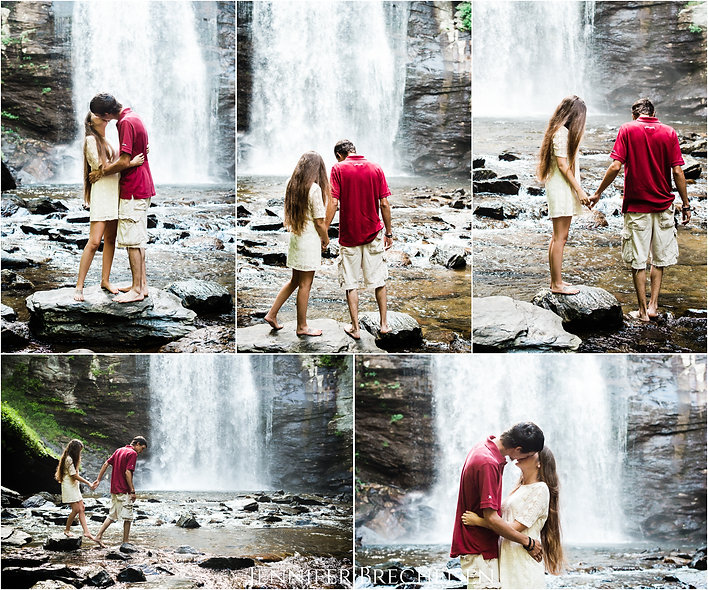 WEDDING ENGAGEMENT PHOTOGRAPHER ASHEVILLE ASPEN LOOKING GLASS FALLS MOUNTAIN ADVENTURE DOCUMENTARY FINE ART DESTINATION